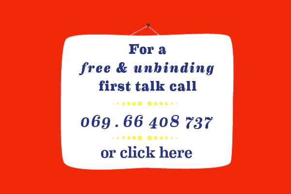 counselling, coaching, conflicts, transactional analysis, Frankfurt
